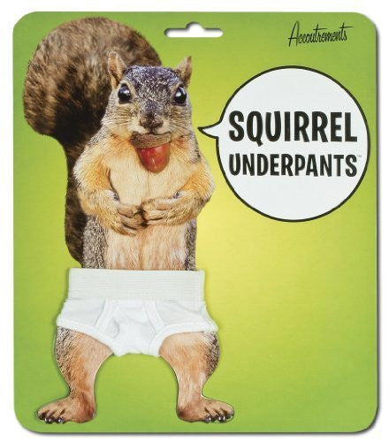Accoutrements Squirrel Underpants - Funzalo Toys