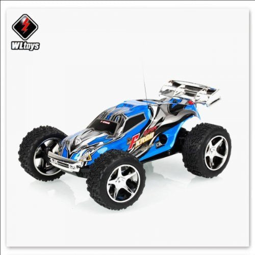 WLtoys 2019 Radio Control Mini High Speed Racing Car Blue [TY2] - Funzalo Toys