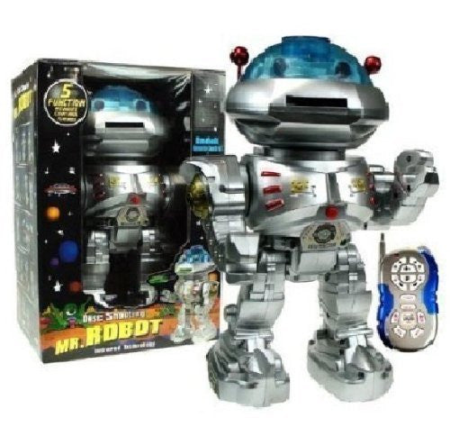 Westminster Mr Robot Remote Disc Shooting Robot - Funzalo Toys