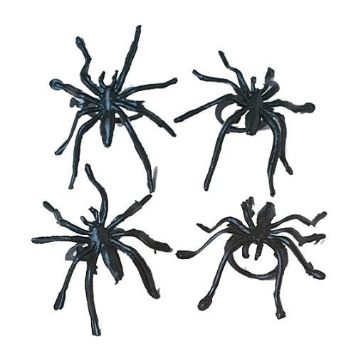 Plastic Spider Rings : package of 36 - Funzalo Toys