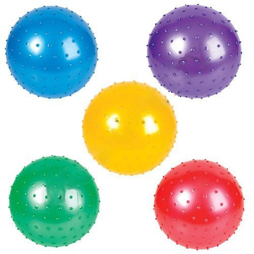7 inch Knobby Balls - 5 Pack - Funzalo Toys