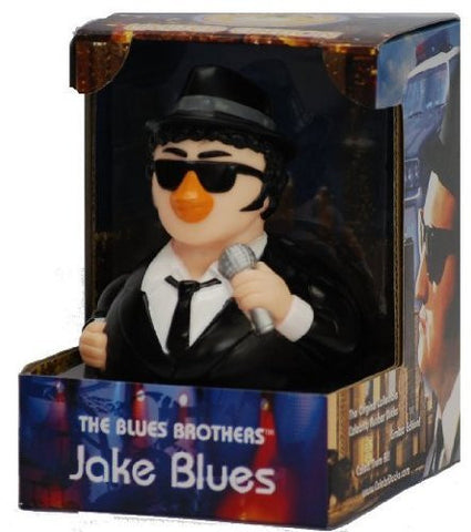 CelebriDucks Blues Brothers Jake RUBBER DUCK John Belushi - Funzalo Toys