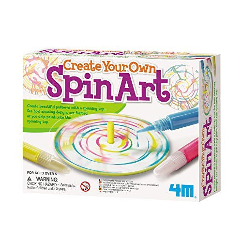 4M Create Your Own Spin Art Kit - Funzalo Toys