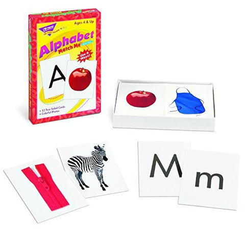Alphabet Match Me Flash Cards - Funzalo Toys