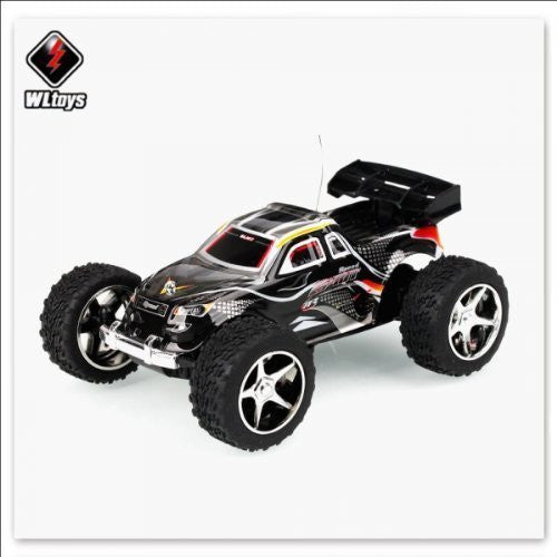 WLtoys 2019 Radio Control Mini High Speed Racing Car Black [TY1] - Funzalo Toys
