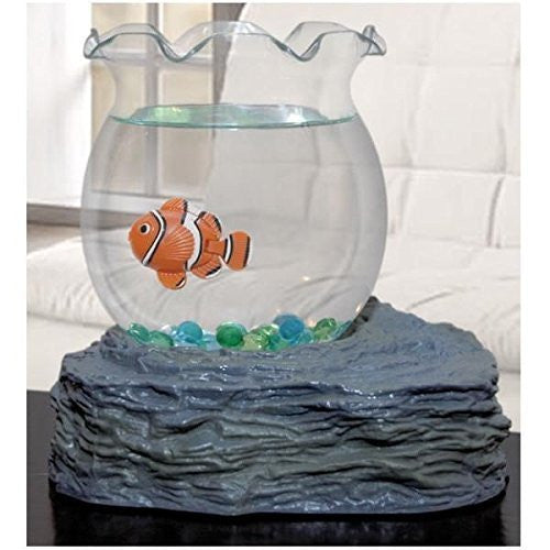 Fish Bowl With Swimming Fish - Funzalo Toys