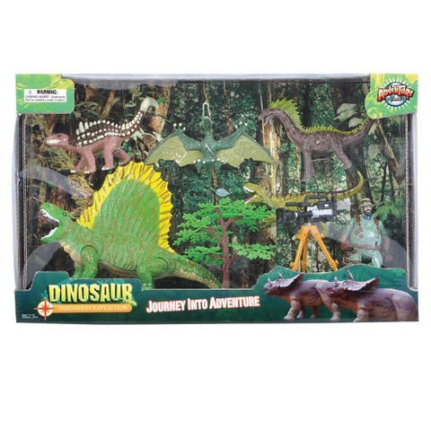 Adventure Planet Series 2 Discovery Expeditions Dinosaur Explorer Set - Funzalo Toys