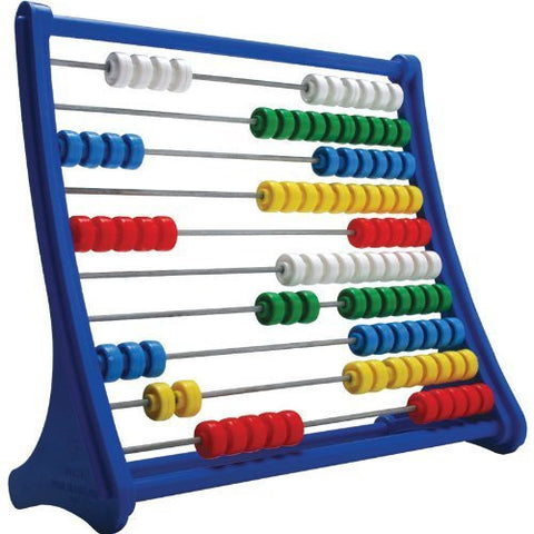Abacus Mathematic Bead Frame - Numbers and Arithmetic Learning Aid - Funzalo Toys