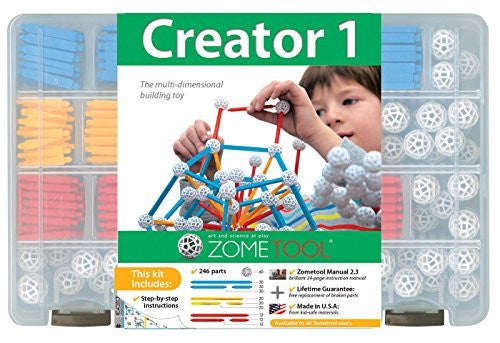 Zometool Creator 1 Construction Kit - Funzalo Toys