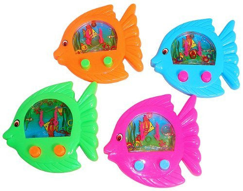 Fish Shaped Water Games (1 dz) - Funzalo Toys