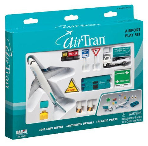 AirTran Airlines 12-Piece Playset - Funzalo Toys