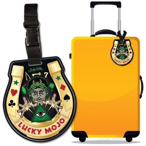 Accoutrements Lucky Mojo Luggage Tag - Funzalo Toys