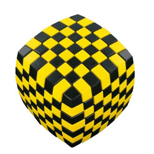 V-Cube 7 Illusion Cube Toy, Yellow - Funzalo Toys