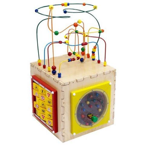 Anatex Deluxe Busy Cube Activity Center - Funzalo Toys