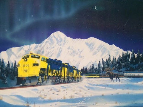 Alaskan Memories a 1000-Piece Jigsaw Puzzle by Sunsout Inc. - Funzalo Toys