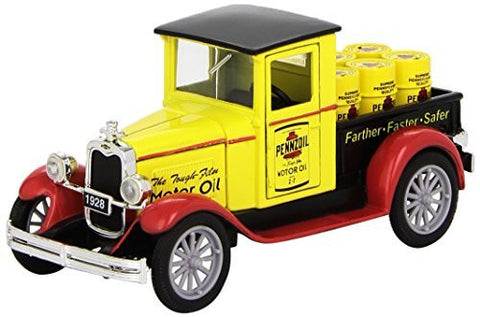 1928 Chevrolet Pennzoil Pickup Truck by Newray 1:32 Scale Diecast - Funzalo Toys