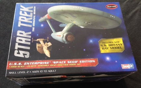 Polar Lights POL908/12 1/1000 Star Trek TOS USS Enterprise Space - Funzalo Toys