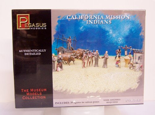 1/72 CA Mission Padre & Indians - Funzalo Toys