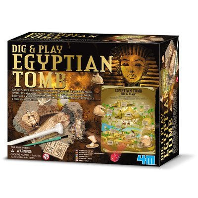 4M Dig and Play Egyptian Tomb - Funzalo Toys