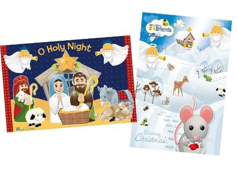 2-in-1 Nativity Floor Puzzle - Funzalo Toys