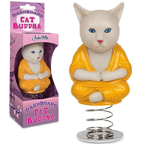 Archie McPhee Dashboard Cat Buddha - Funzalo Toys
