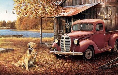 A Golden Autumn a 550-Piece Jigsaw Puzzle by Sunsout Inc. - Funzalo Toys