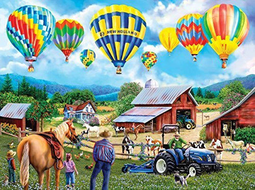 Balloon Adventure a 1000-Piece Jigsaw Puzzle by Sunsout Inc. - Funzalo Toys