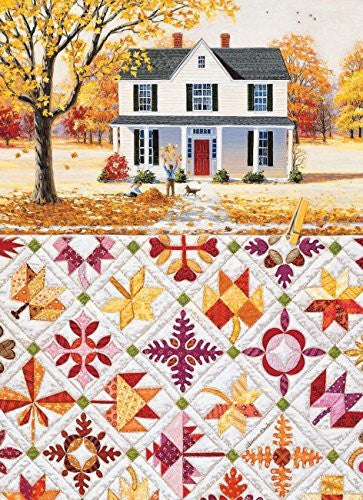 Autumn Leaves a 500-Piece Jigsaw Puzzle by Sunsout Inc. - Funzalo Toys