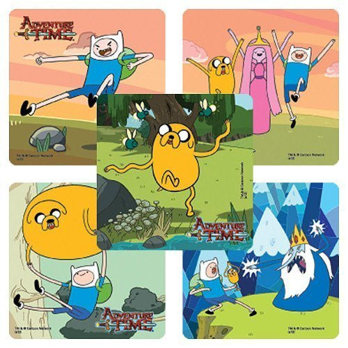 Adventure Time Stickers -75 per pack - Funzalo Toys