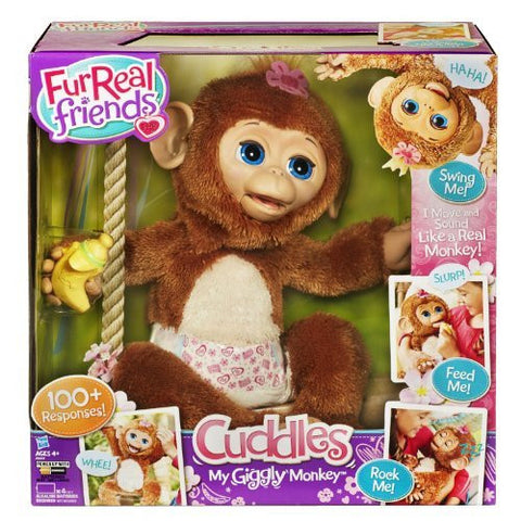 Hasbro A1650 Furreal Cuddles My Giggly Monkey - Funzalo Toys