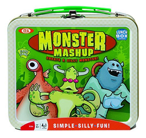 Ideal Monster Mashup Card Game with Collectible Lunch Box - Funzalo Toys
