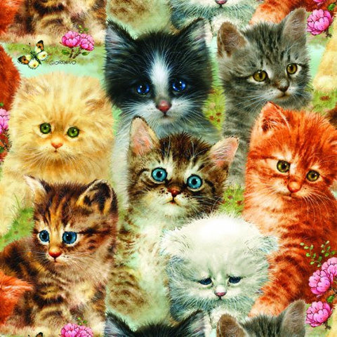 A Pile of Kittens a 1000-Piece Jigsaw Puzzle by Sunsout Inc. - Funzalo Toys