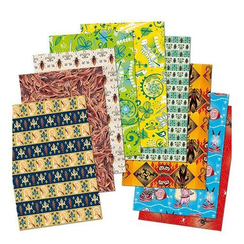 Accoutrements Creepy Wrapping Paper Book - Funzalo Toys