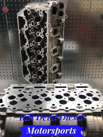 6.7 Kill Devil Diesel Aluminum Cylinder Head Set