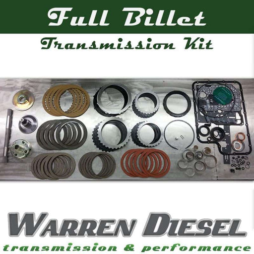 Warren Diesel Transmission Full Billet DIY Kit - 5r110 (03-10)