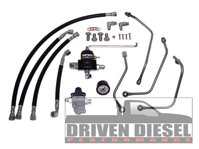 Driven Diesel Regulated Return Fuel System Kit