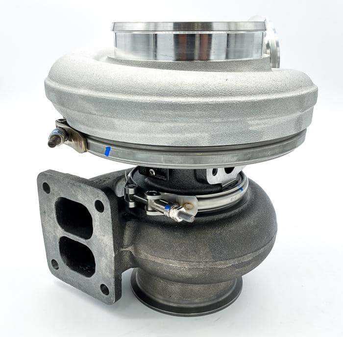 Borg Warner S467 Turbo T4 FMW (67/83) 0.9 A/R V-Band Cover - POWERSTROKE, CUMMINS & DURAMAX