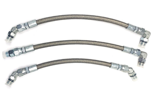 CNCFAB Replacement HPOP Lines w/ Crossover - 7.3 Powerstroke  (L99-03)