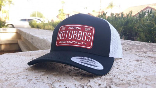 Vintage License Plate Snapback - Trucker Style