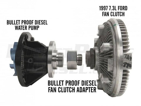 Bulletproof Diesel 7.3 Fan Clutch Adapter - 6.0 Powerstroke