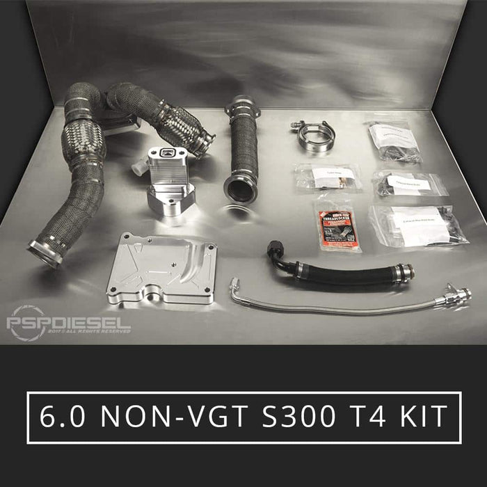 SoCal Billet Non-VGT T4 S300 Turbo Kit - 6.0 Powerstroke (2003-2007)