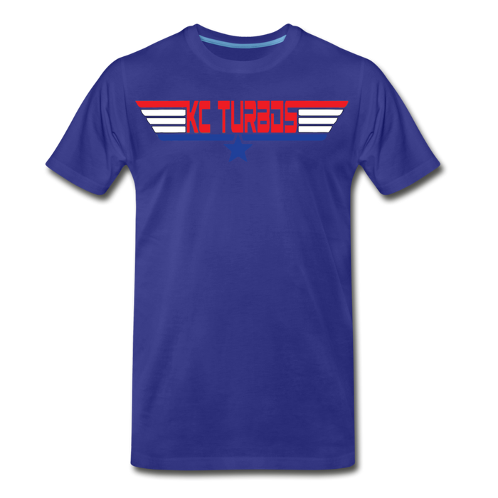 KC Top Gunner T-Shirt - royal blue