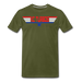 KC Top Gunner T-Shirt - olive green