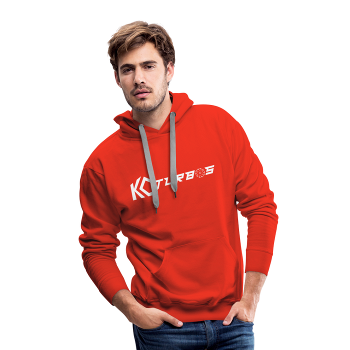 KC Wide Logo - Hoodie - red