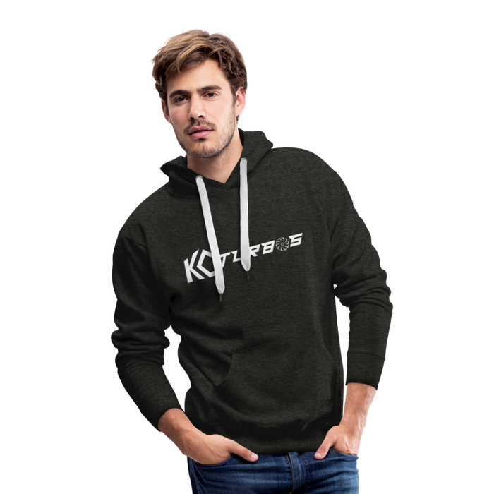 KC Wide Logo - Hoodie - charcoal gray