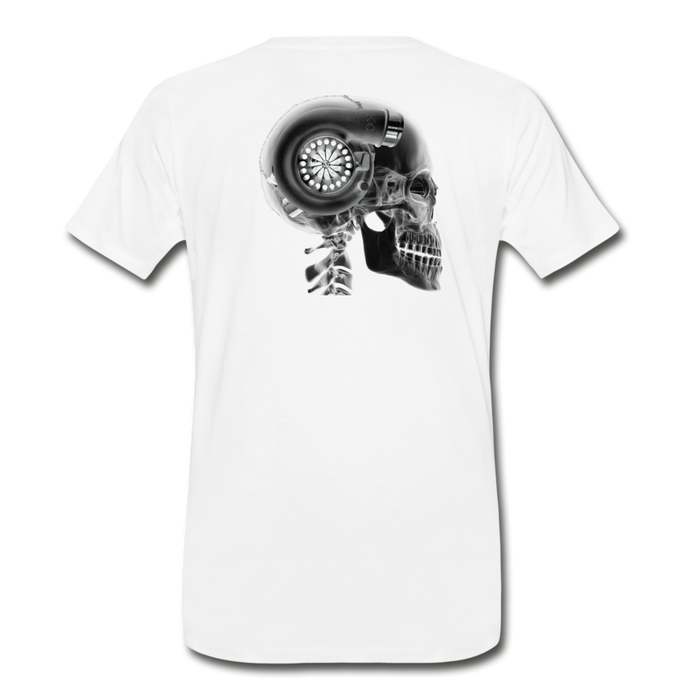 KC Skull Turbo T-Shirt - white