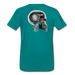 KC Skull Turbo T-Shirt - teal
