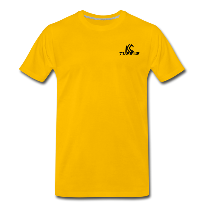 KC Skull Turbo T-Shirt - sun yellow