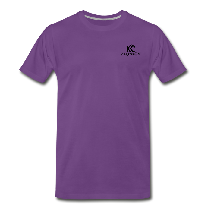 KC Skull Turbo T-Shirt - purple