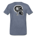 KC Skull Turbo T-Shirt - heather blue